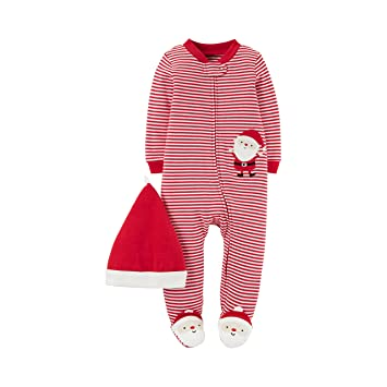 ae4dcaa10dcb Amazon.com  Just one you By Carters Unisex Sleep-N-Play and Hat Set ...