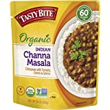 Tasty Bite Indian Channa Masala, Microwaveable Ready to Eat Entrée, 10 Ounce (Pack of 6)