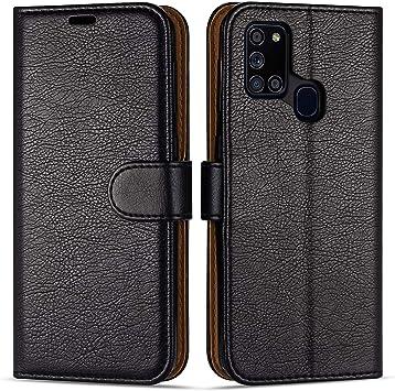 Case Collection Étui de Style Portefeuille avec Rabat pour Coque Samsung Galaxy A21s (6,5