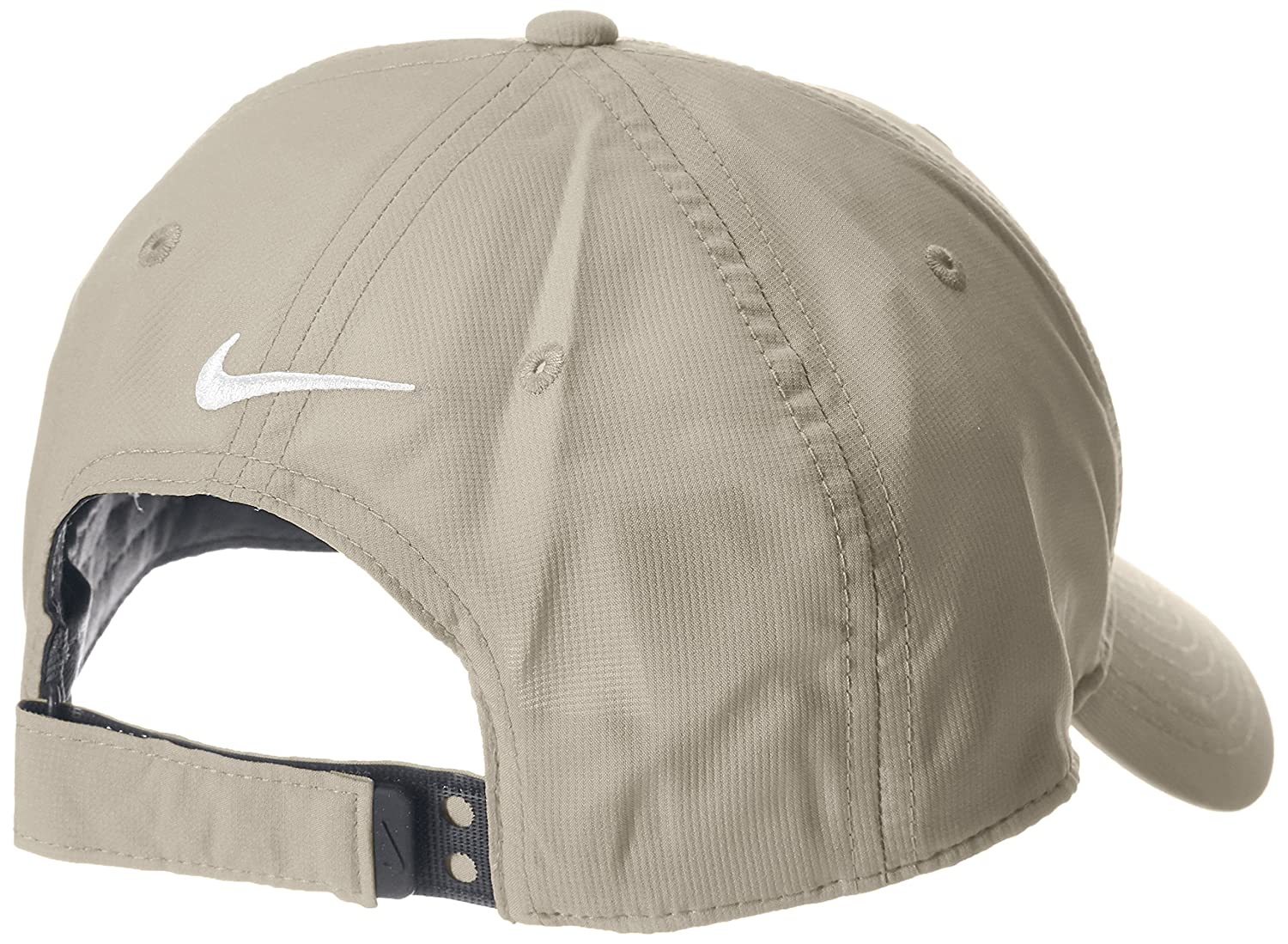 NIKE Legacy 91 Tech Adjustable Golf Cap Hat - Beige - One size   Amazon.co.uk  Clothing ac53a44a9872
