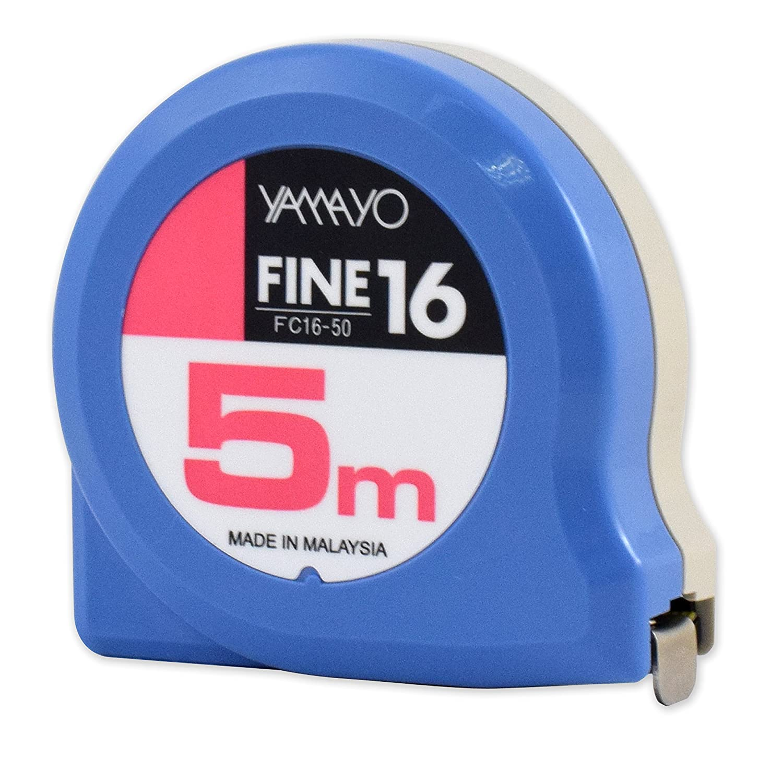 5 Metros 0 V Yamayo FC16-50 Flex/ómetro Profesional 5 M X 16 Mm Sin Freno 0 W