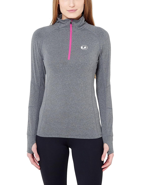 Ultrasport Damen Langarm-Funktionslauf/-Sportshirt, hochelastisch