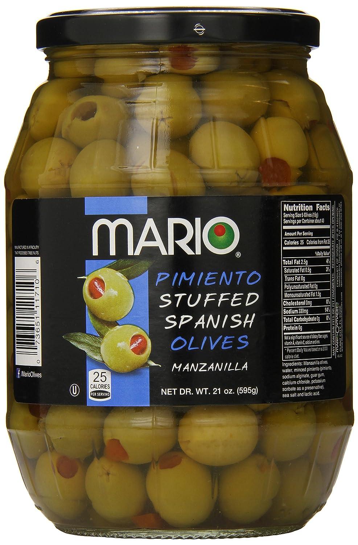 Mario Camacho Foods Manzanilla Spanish Olives, 21 Ounce