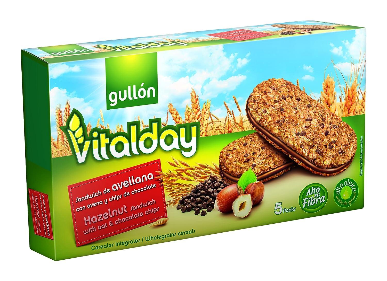Gullón Vitalday Sandwich Avellana Galleta Desayuno y ...
