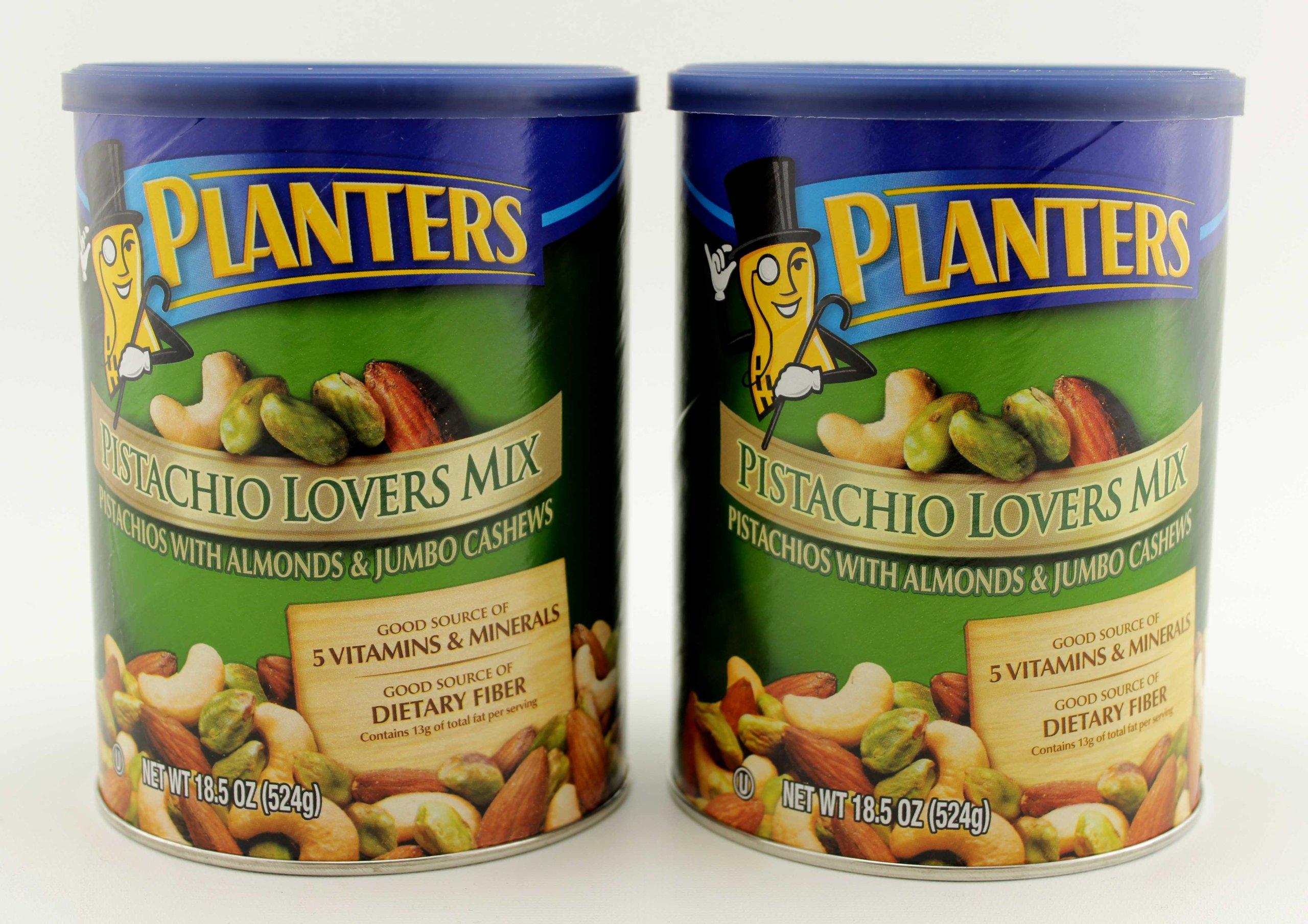 Planters Pistachio Lovers Mix Net Wt 18.5 Oz (Pack of 2)