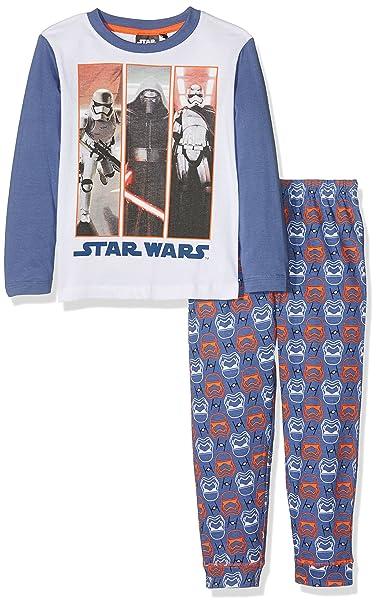 Sun City FR Star Wars VII, Conjuntos de Pijama para Niños, Azul (Bleu