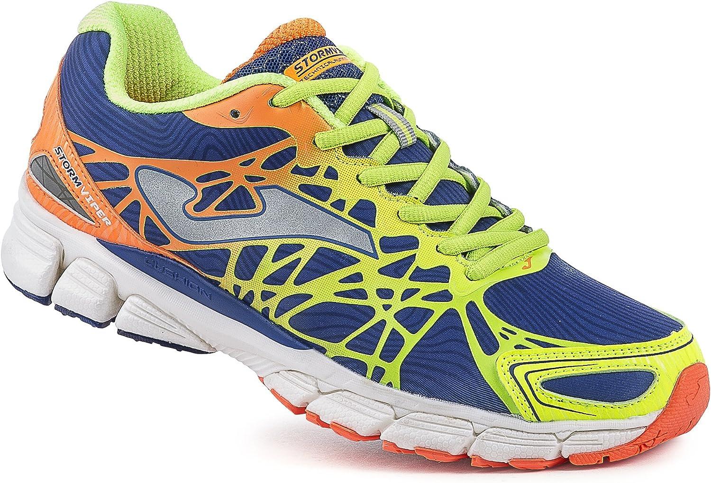 Joma - Storm Viper, Color Amarillo,Azul, Talla UK-9: Amazon.es: Zapatos y complementos