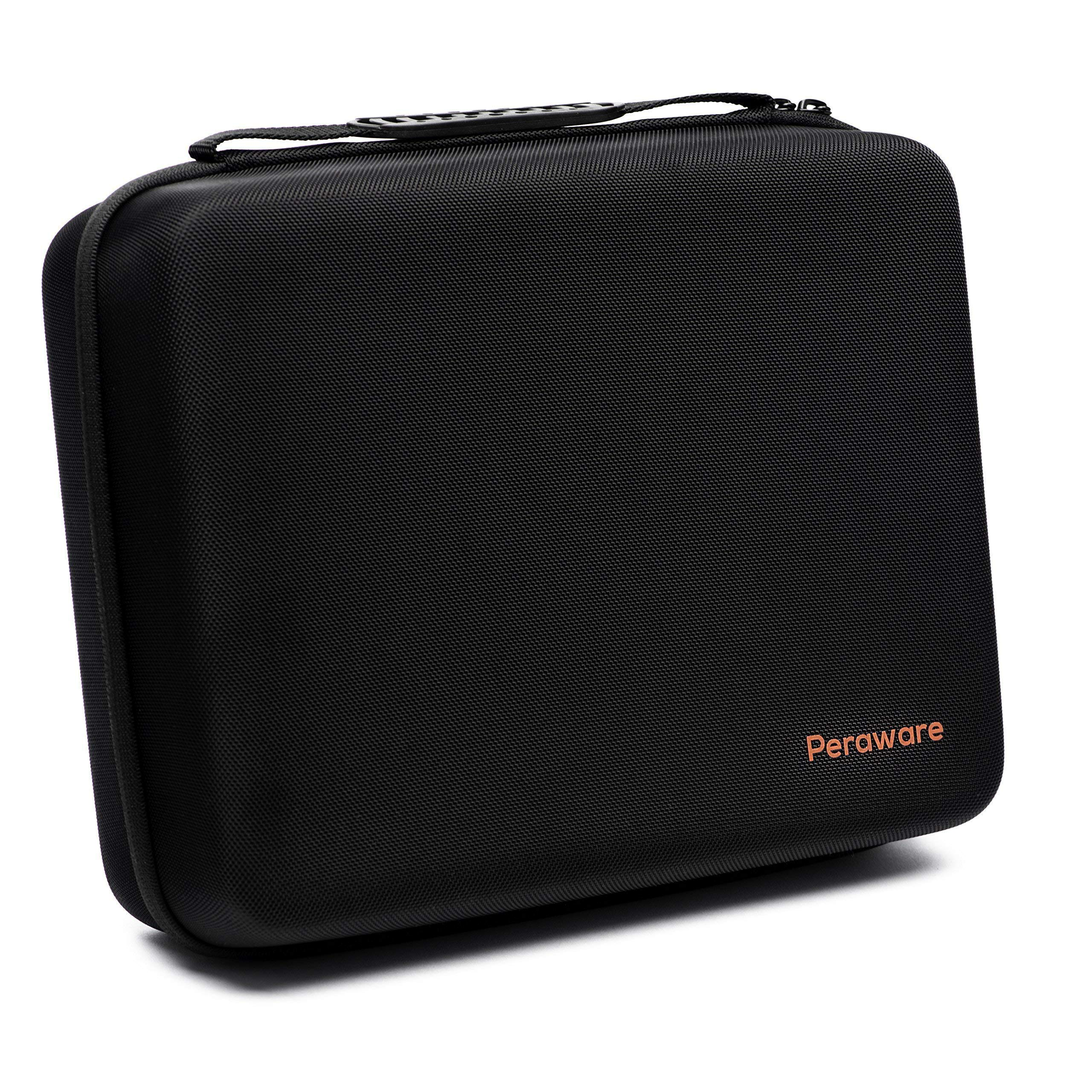 Peraware Universal Storage Carrying Case for Small Electronics Hard Drives Portable Devices and Accessories