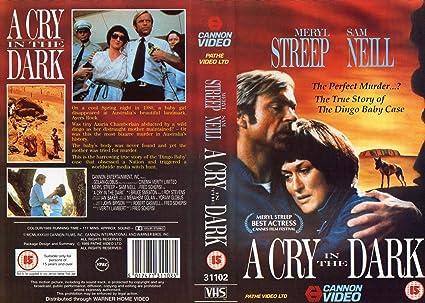 Amazon.com: A Cry in the Dark [VHS]: Meryl Streep, Sam Neill ...