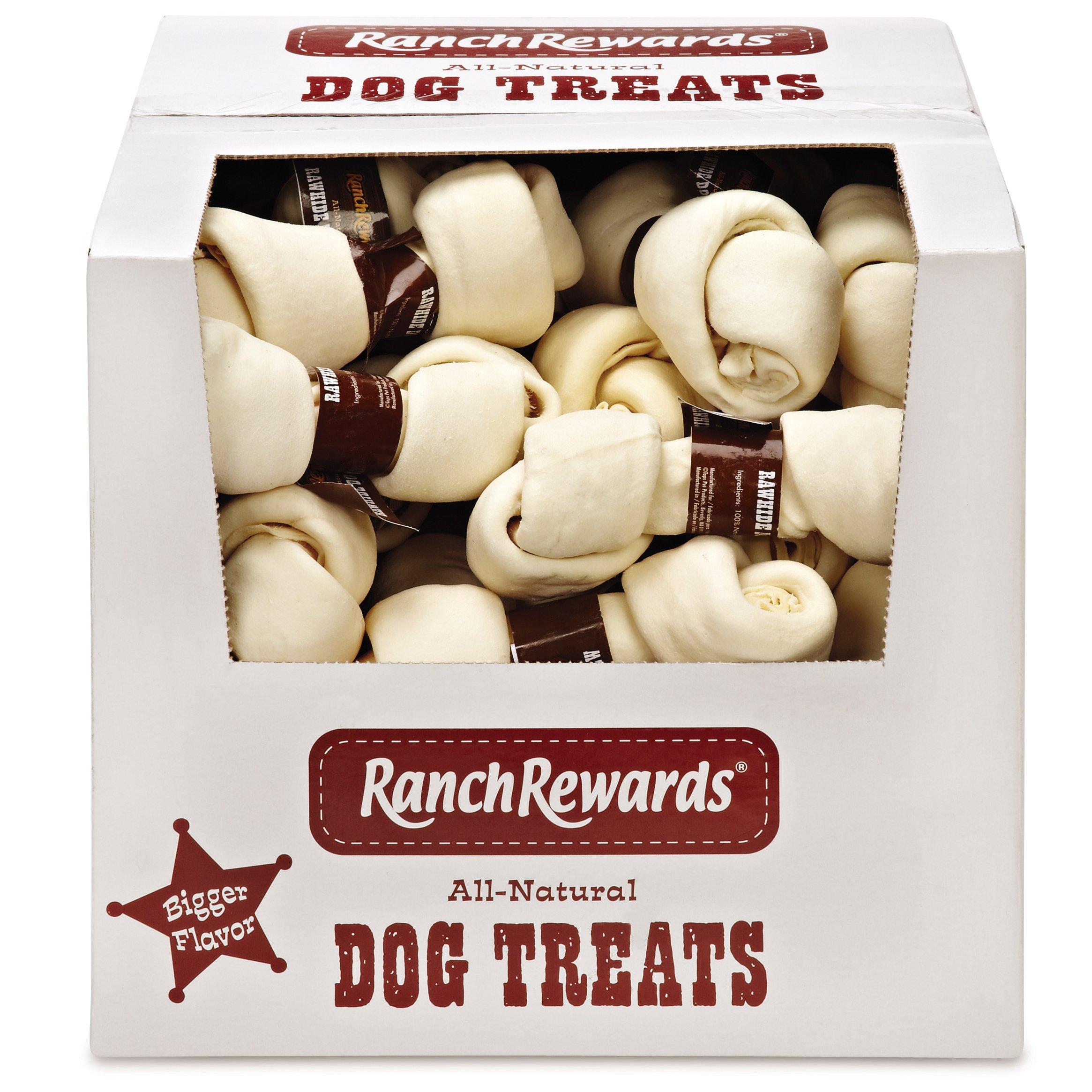 Ranch Rewards 35 Piece Rawhide Bone Toy, 6-7'' by Ranch Rewards