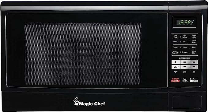 Magic Chef mcm1611b Comptoir 45.3L 1100 W negro, color blanco ...