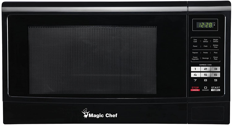 Magic Chef 0.9 cu ft Microwave - Black
