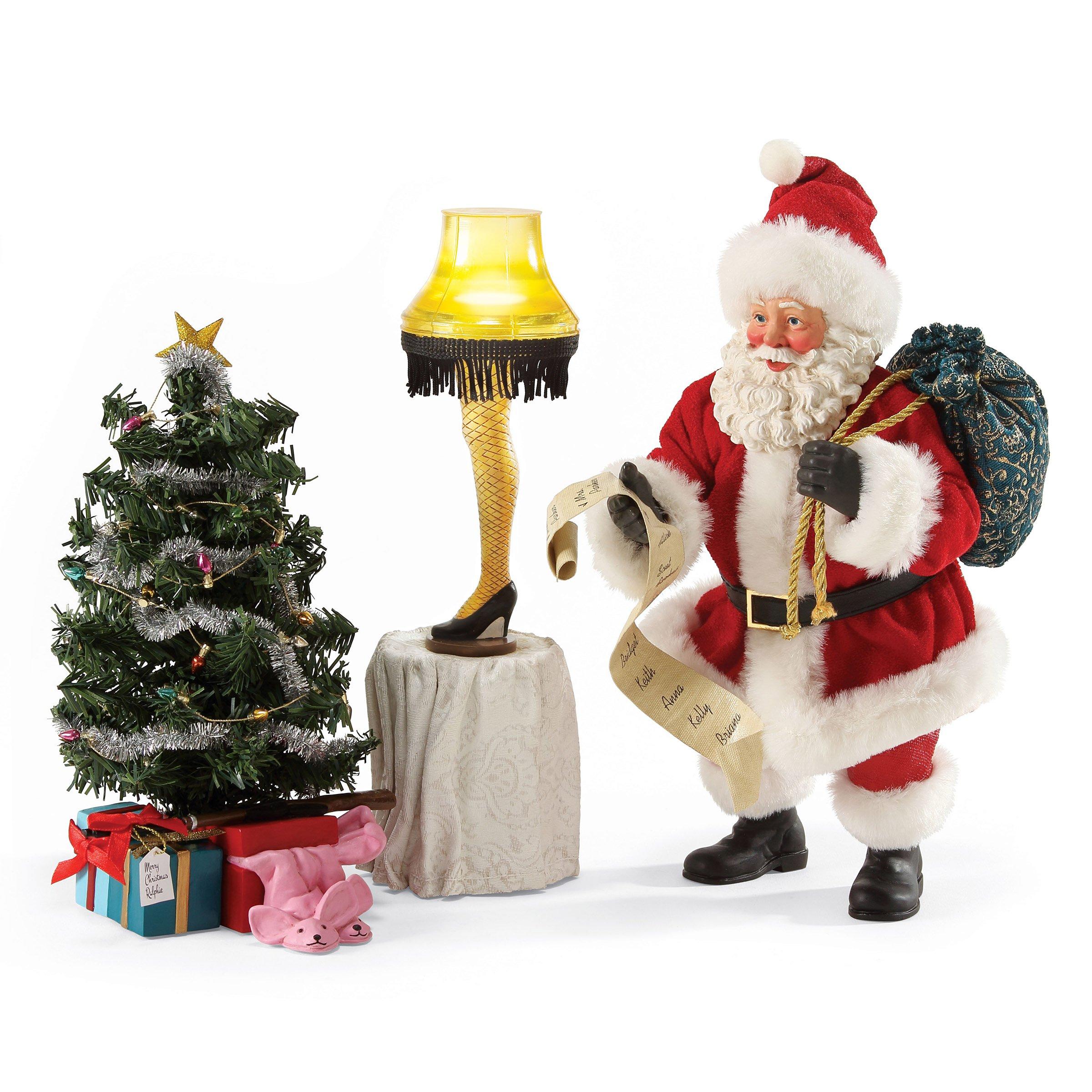 Department 56 Possible Dreams Christmas Cornucopia of Gifts Santa Figurine