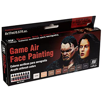 Vallejo Face Painting Set 17ml Paint: Toys & Games