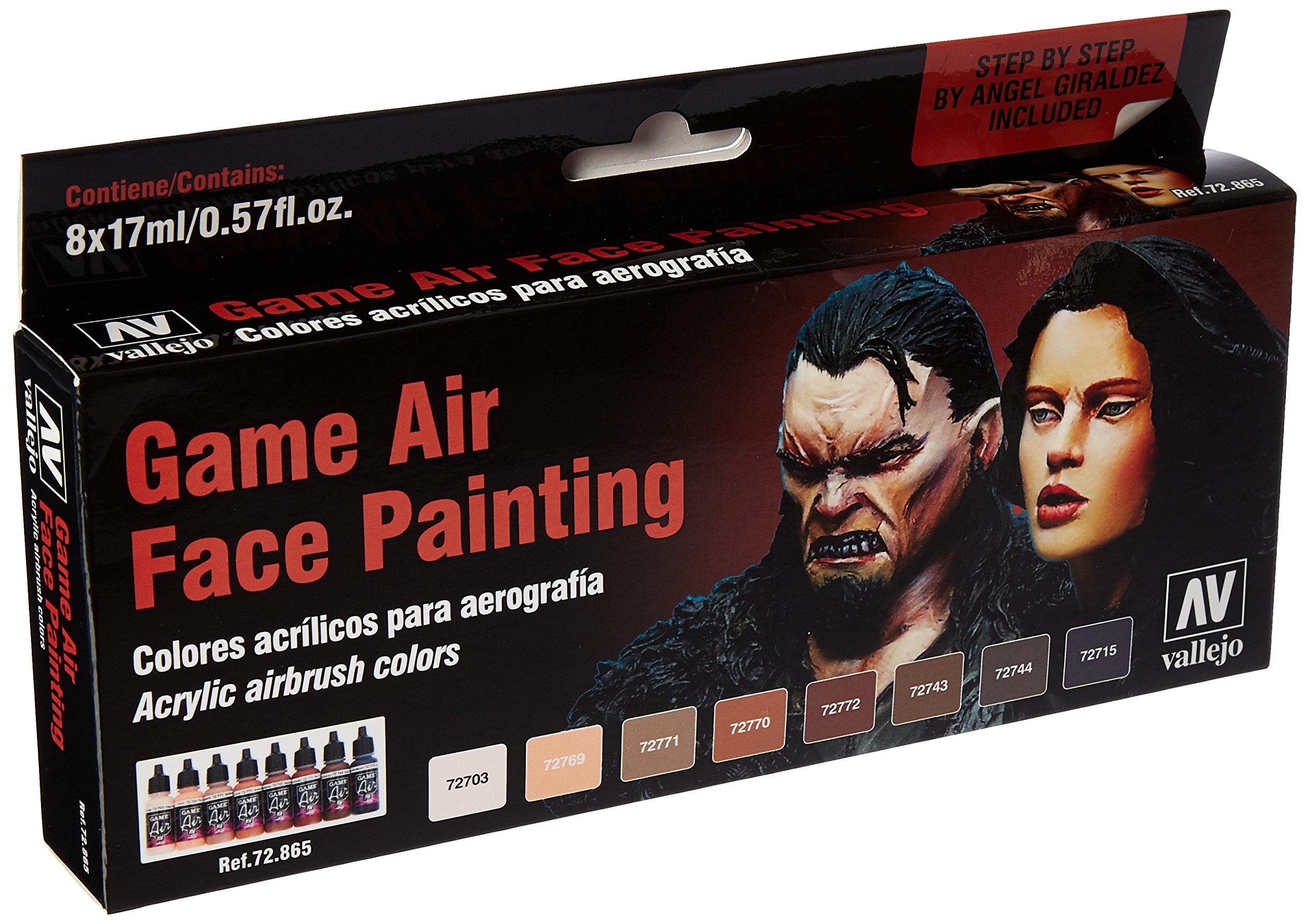 Vallejo Face Painting Set 17ml Paint