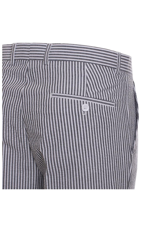 Amazon.com: Para hombre Premium Slim Fit Pinstripe traje de ...