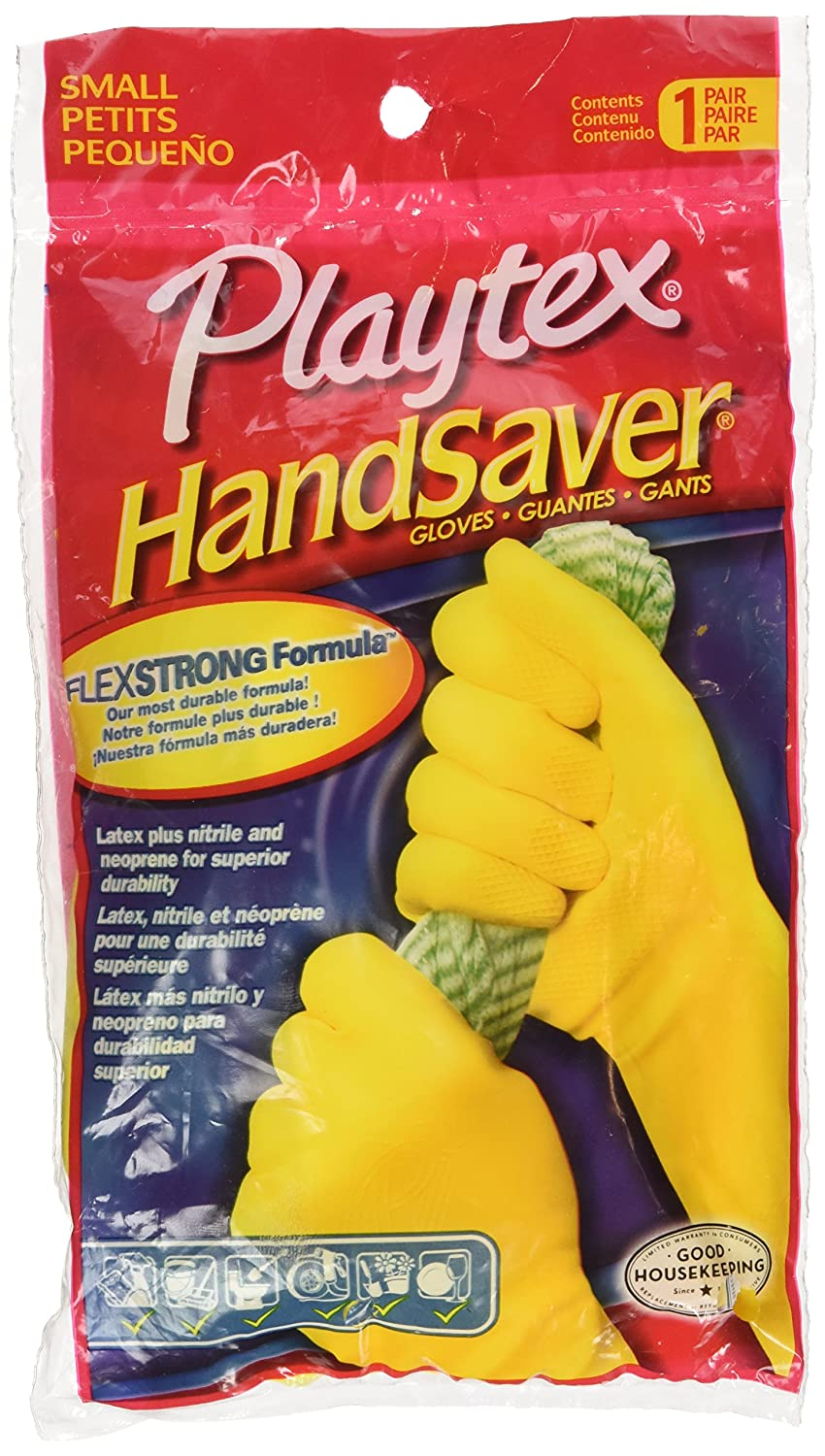 Playtex Gloves HandSaver Gloves: Small - 6 Pairs AX-AY-ABHI-74491