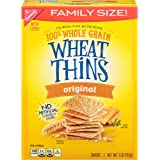 Wheat Thins Original Crackers - Family Size, 16 Ounce (Pack of 6)