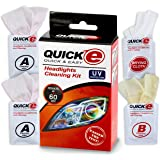 H&A Quality(Quick-E) Headlight Restoration Kit Quick&Easy Result In 60 Seconds with 3M UV Protection