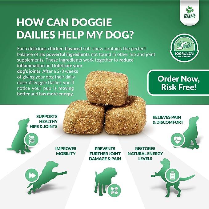 Amazon.com: Advanced Hip & Suplemento para perros, 225 Soft ...