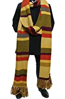 Doctor Who Scarf - 18ft Long Season 16 -17 Official BBC Doctor Who Fourth Doctor Scarf by LOVARZI