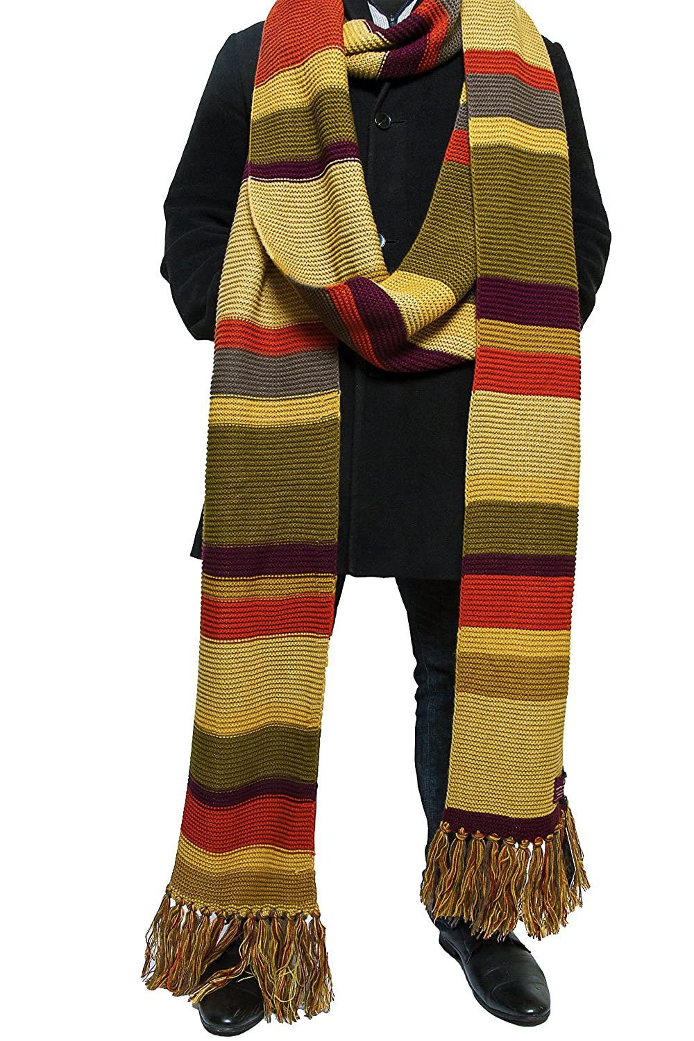 Amazon Doctor Who Scarf Season 16 Official Bbc Tom Baker 18 Ft