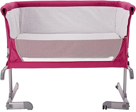 Chicco Next 2 Me Co Sleeping Crib (Fuchsia-Pink)