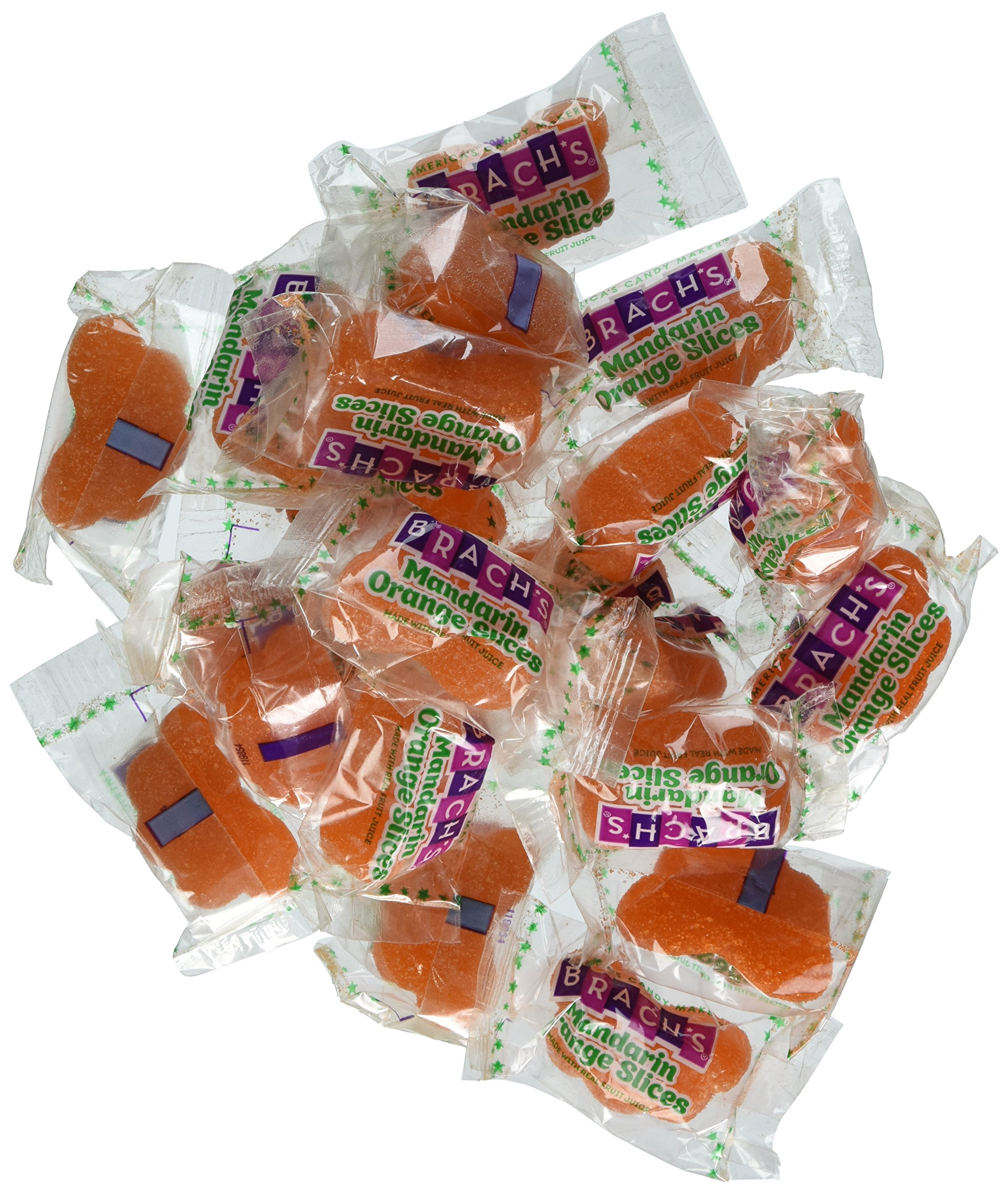 Brach's Mandarin Orange Slices Gummy Candy, 6.89 Pound Bulk Candy Bag