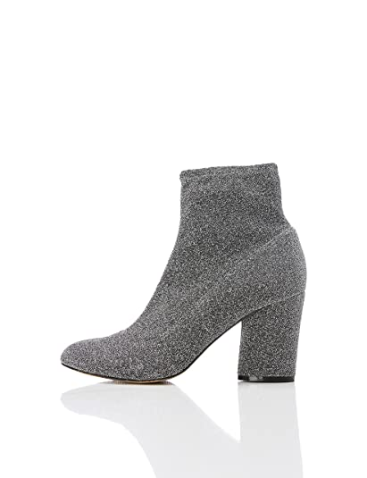 80fb89116b4 Amazon Brand - find. Women's Sparkle Stretch Ankle Boots