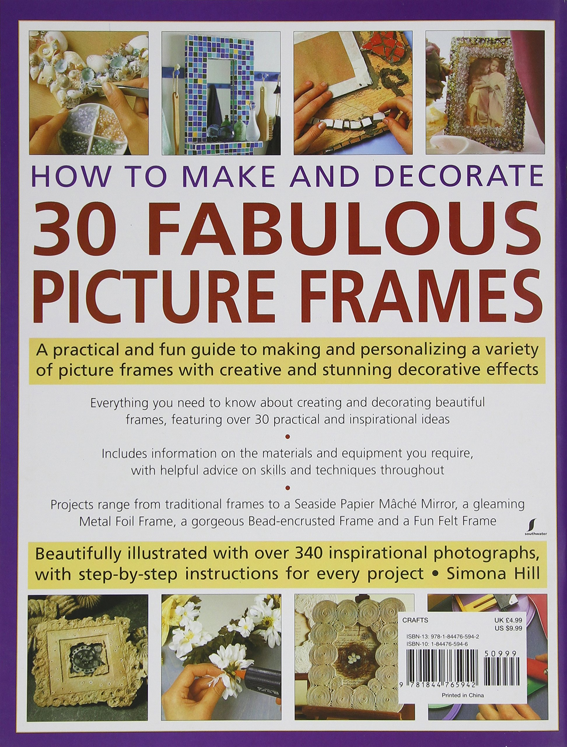 How to Make and Decorate 30 Fabulous Picture Frames: A practical ...