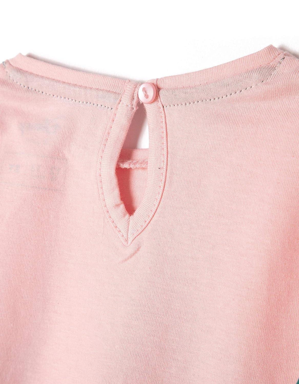 Zippy Dis Long Sleeve Cryst Rose T-Shirt Bimba