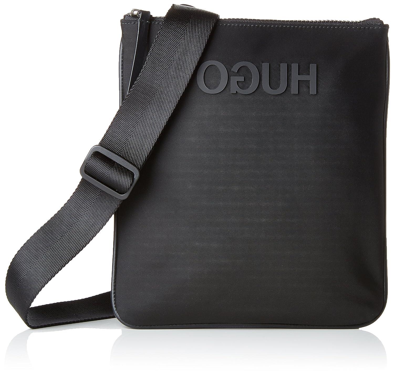 df32c53f69 HUGO Record_s Zip Env, Men's Shoulder Bag, Black, 1x1x1 cm (B x H T ...