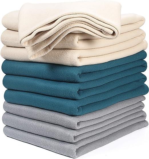 Plush Fleece Blanket Polar Extra Soft Brushed Fabric Super Warm Bed Blanket King