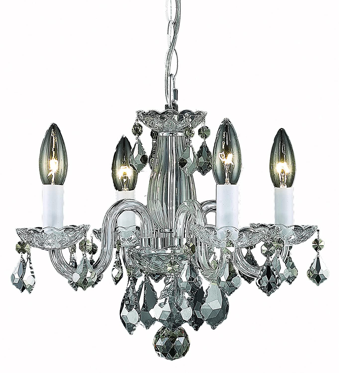 Elegant Lighting Rococo Chandelier Crystal Clear Amazon