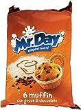 Misterday Mister Muffin con Gocce di Cioccolato - 252 gr