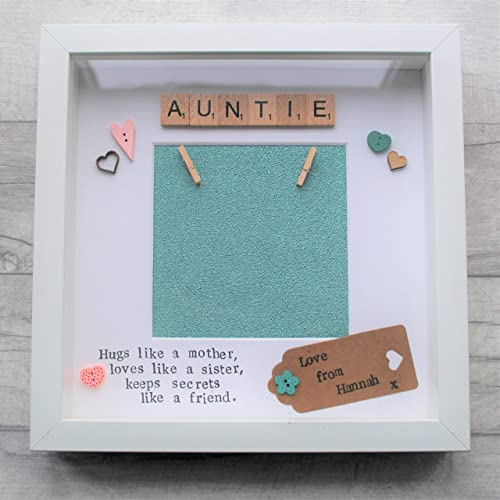 Birthday Present Custom Design Personalised Frame Gift Auntie Mum Mother Sister Aunt Mothers Day Christmas Handmade Photo Amazoncouk
