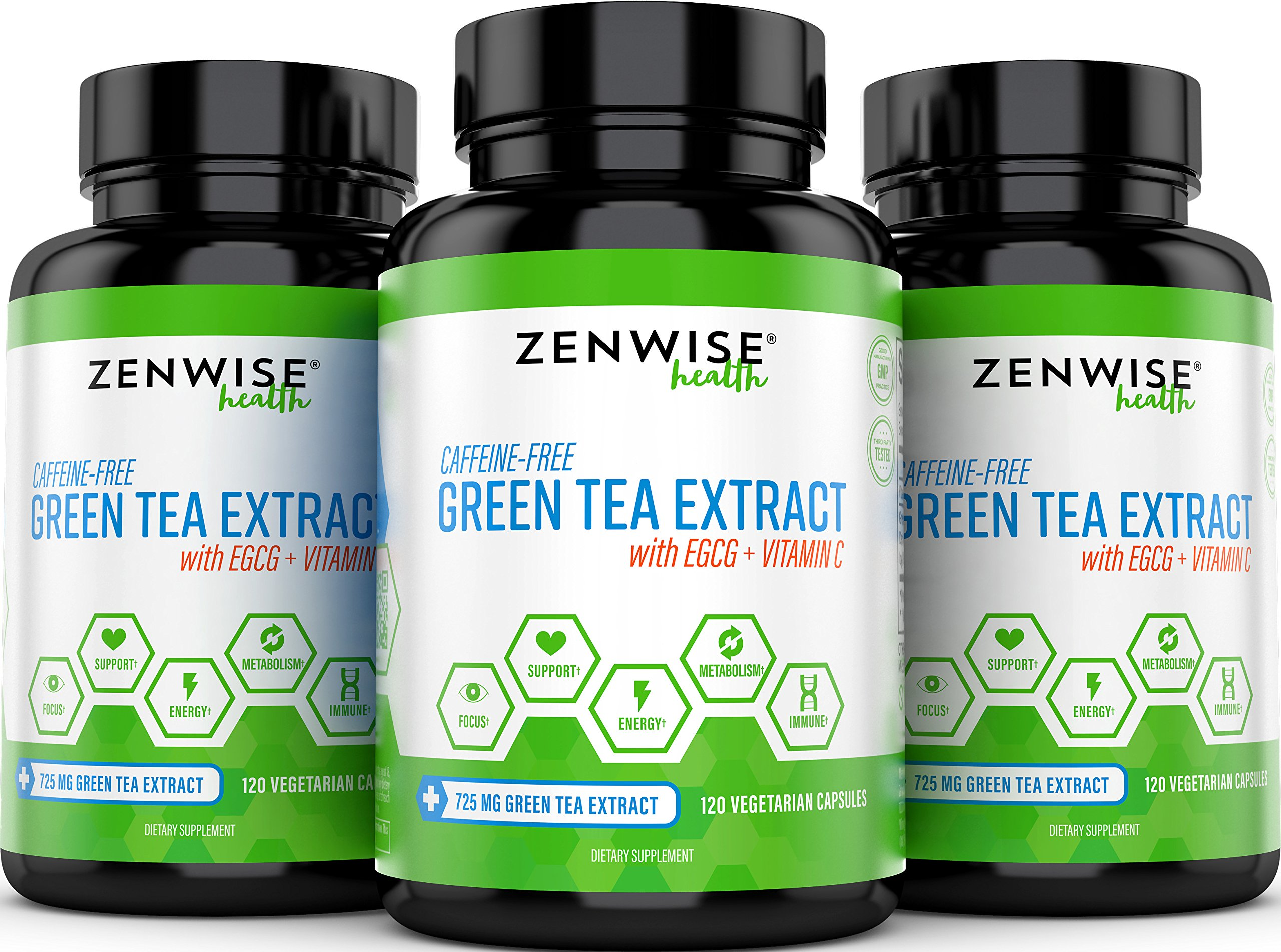 Green Tea Extract Supplement With Egcg Vitamin C