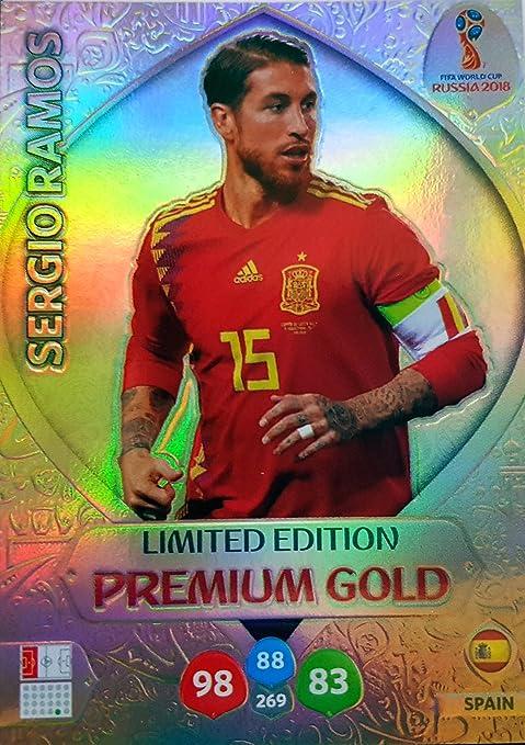 ADRENALYN XL FIFA WORLD CUP 2018 RUSSIA – SERGIO RAMOS PREMIUM ...