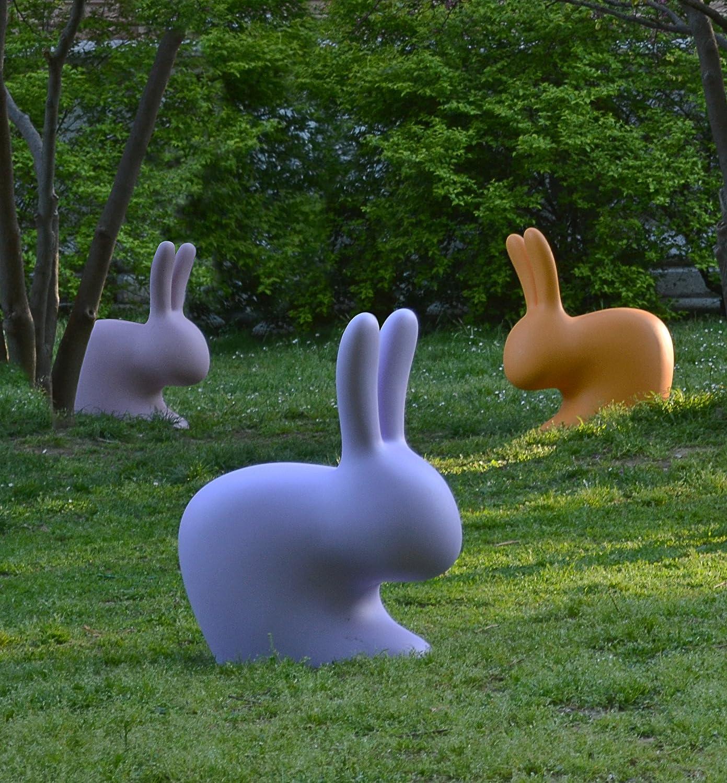 Qeeboo 90001VI Chair coniglietto 45,3 x 26,2 x 52,7 cm Viola plastico