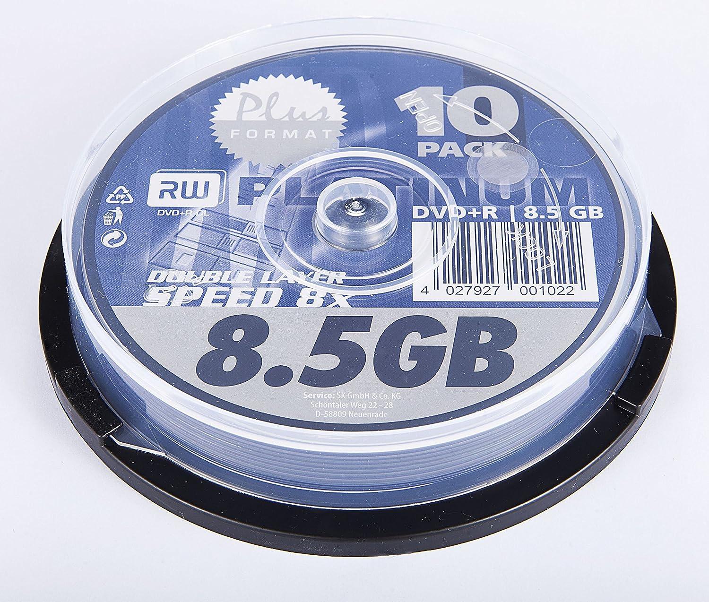 Bestmedia - DVD+r 8X 8.5gb 10pcs: Amazon.es: Electrónica