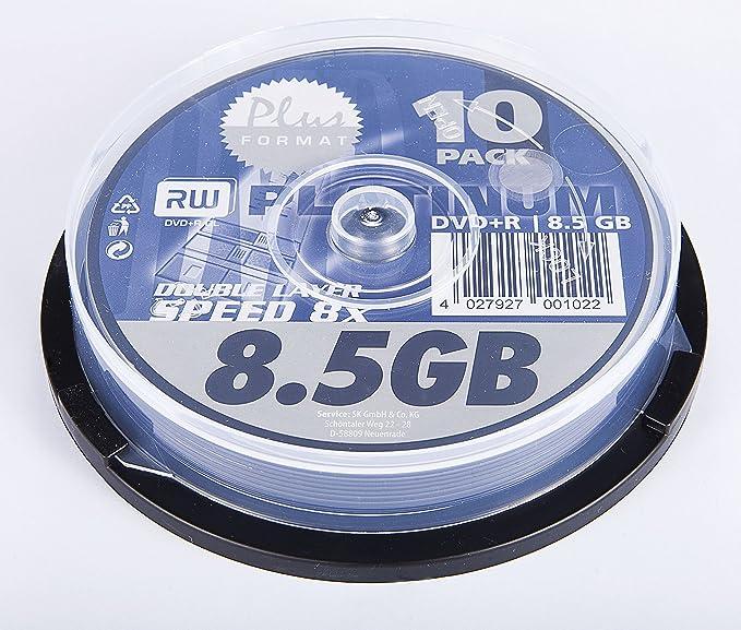 Bestmedia DVD+R 8X 8.5GB 10pcs 8,5 GB 10 Pieza(s) - DVD+RW ...