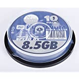 Platinum 10 x DVD+R DL 8.5 GB 8x spindle storage media
