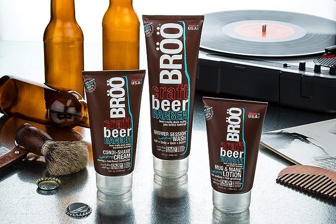 Craft Beer Barber, ducha Asiento hidratantes waschung, aroma de - Brà ¶ à ¶: Amazon.es: Salud y cuidado personal