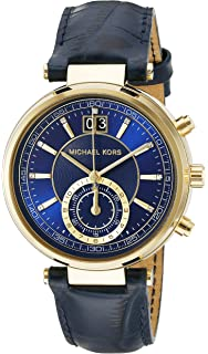 Michael Kors Womens Sawyer Blue Watch MK2425