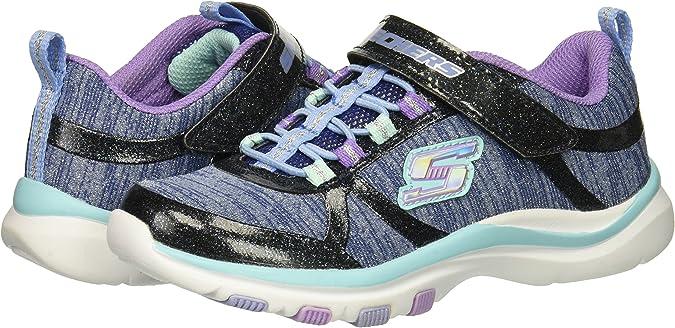 Skechers Kids' Trainer Lite Jazzy Jumper Sneaker: