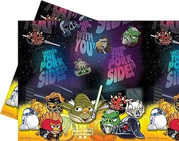 Procos S.A. - Cubertería para fiestas Angry birds (71914): Amazon.es: Juguetes y juegos