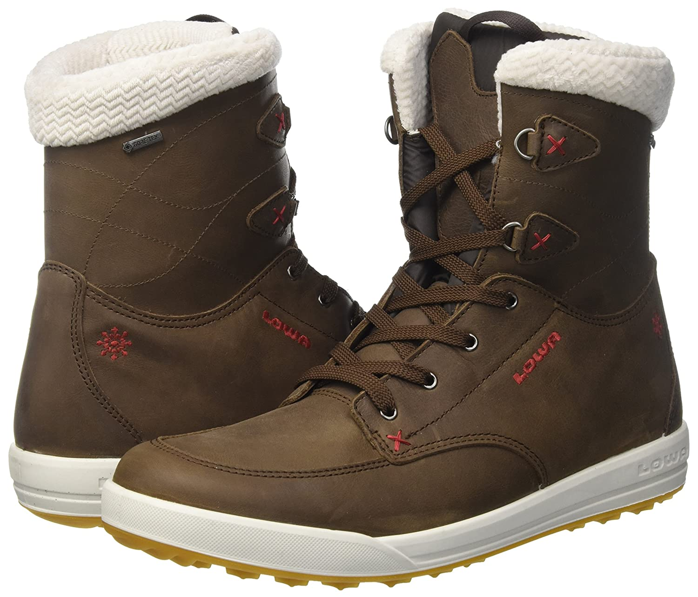 Niedriga Damen Melrose Trekking-& GTX Trekking-& Melrose Wanderstiefel Braun (Braun/Rot) 0fdd47