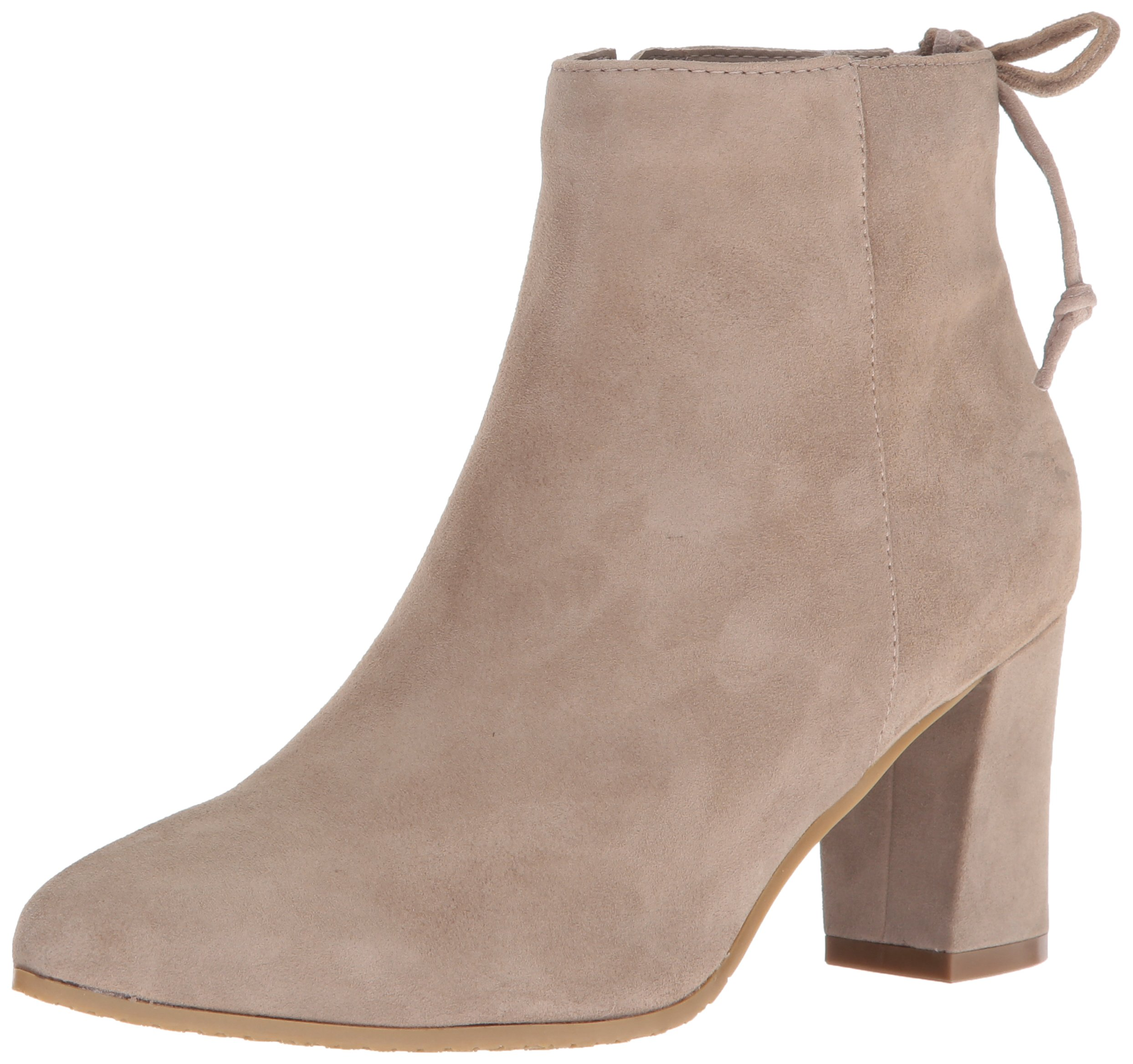 Blondo Women's Tiana Waterproof Ankle Bootie, Taupe Suede, 7.5 M US by Blondo