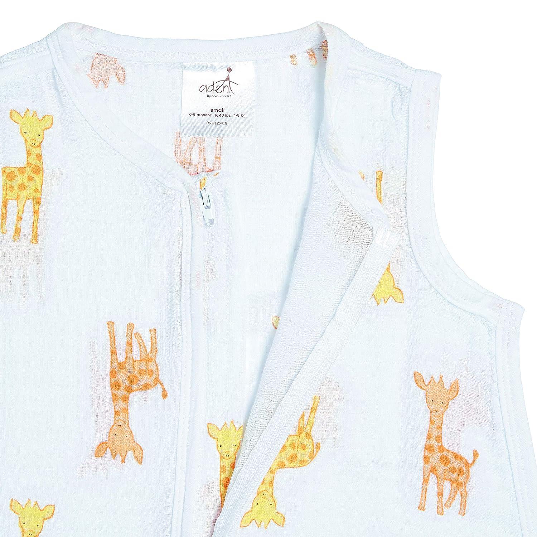 6-12 mois Anais g270b safari babes Aden giraffe sleeping bag gigoteuse 100/% mousseline de coton