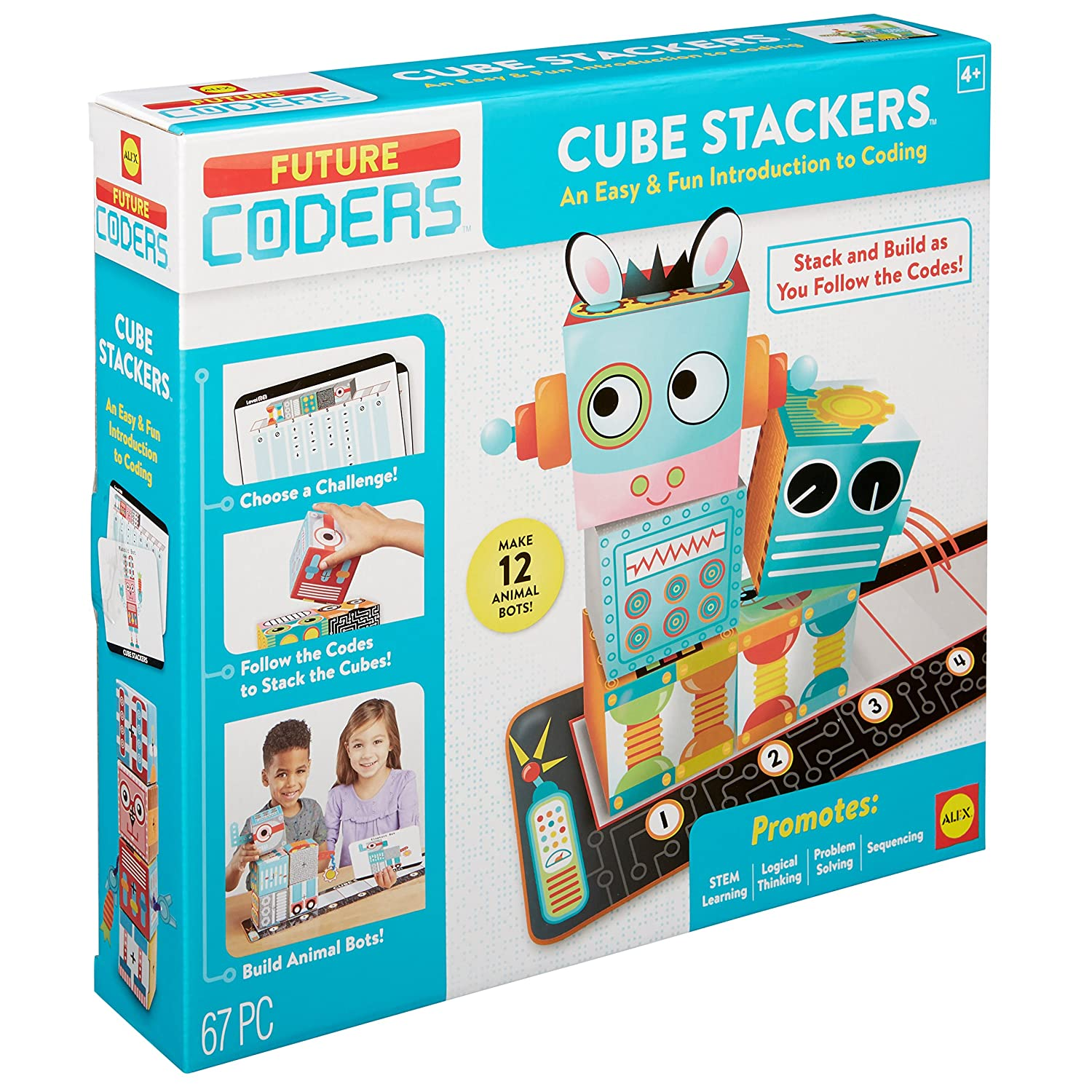 Alex Toys 890110 Future Coders Cube Stackers Coding Skills Kit